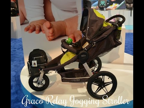 NEW! Graco's RELAY All terrain stroller ~ ABC Kids Expo 2014