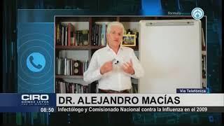 ¿Tercera ola de COVID-19 en México es inevitable? El Doctor Alejandro Macías responde