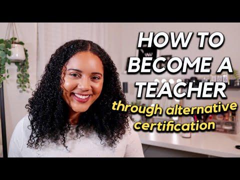 Becoming A Teacher Through Alternative Certification✰  texas teachers of tomorrow program explained