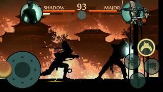 Shadow fight 2 (shadow vs shogun) bodyguards intrlude match HD gamplay