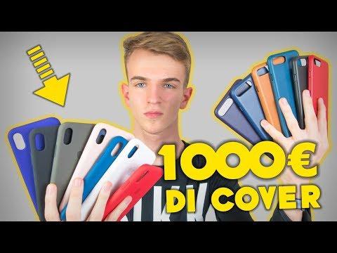 Unboxing TUTTE LE COVER APPLE per iPhone X & 8 Plus [feat. Bertra]