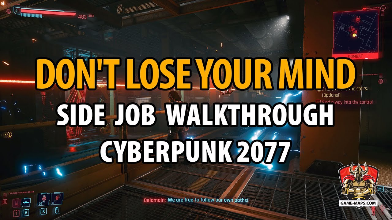 Video Don't Lose Your Mind Side Job Walkthrough