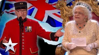 BEST OF BRITISH! Featuring THE QUEEN! | Britain's Got Talent