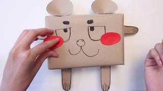 สอนทำกล่องของขวัญหมีน้อย