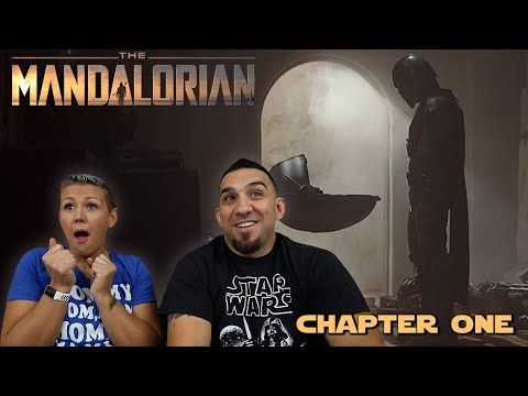 Star Wars: The Mandalorian 'Chapter One' REACTION!! (re upload)