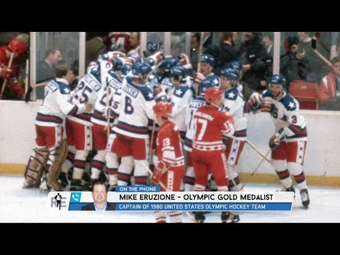 Mike Eruzione of 1980's Olympic Hockey Teams Talks Miracle on Ice Game - 2/27/18