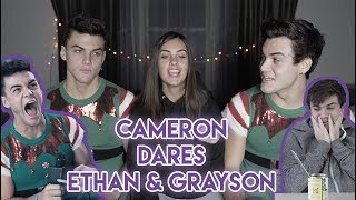 Cameron Dares Ethan And Grayson
