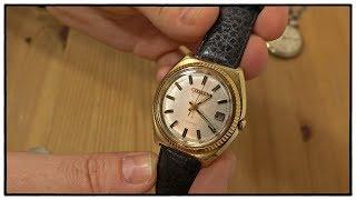 Citizen Automatik Uhr aus den 1970er Jahren mit Miyota 8210 Uhrwerk