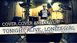 Bounty Ramdhan - Tonight Alive - Lonely Girl (Drum Cover) HD