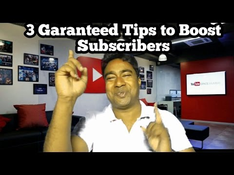 3 Tips & Tricks to increase your Channel  Subscribers Super Fast & Quick