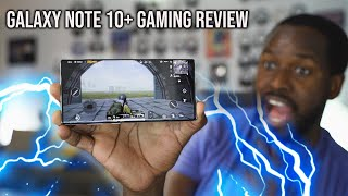 Samsung Galaxy Note10+ Gaming Review