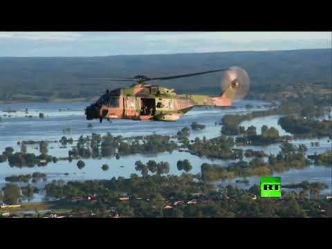 العرب اليوم - شاهد:رئيس وزراء أستراليا يتفقد أضرار الفيضانات