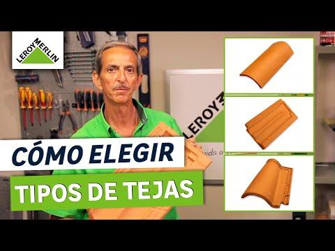 ¿Qué tipos de tejas existen y cómo elegirlas?