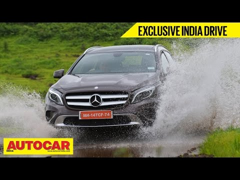 2014 Mercedes-Benz GLA | Exclusive India Drive Video Review | Autocar India