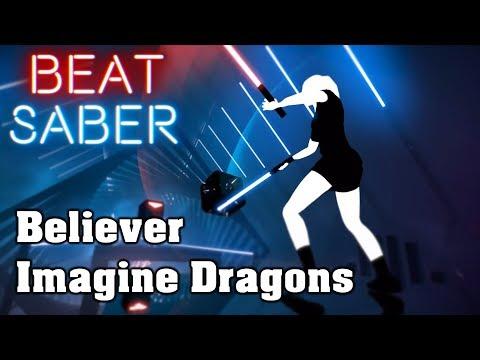 Beat Saber - Believer - Imagine Dragons (custom song)   FC