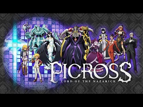 PICROSS LORD OF THE NAZARICK Trailer (Nintendo Switch) thumbnail
