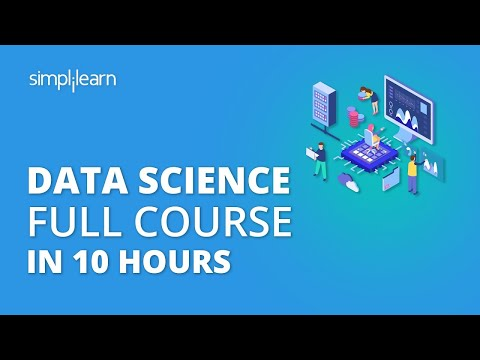 Data Science Full Course 2020   Data Science For Beginners   Data ...