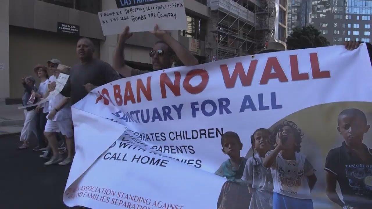 Δεκάδες διαδηλώσεις στις ΗΠΑ κατά της μεταναστευτικής πολιτικής του Τραμπ