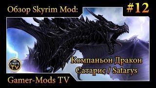 ֎ Компаньон Дракон Сатарис /  Follower Dragon Satarys ֎ Обзор мода для Skyrim #12