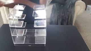 DIY Clear Cube | Makeup Storage