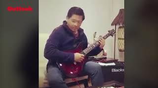 Meghalaya CM Conrad Sangma Plays Iron Maiden's 'Wasted Years' on Guitar