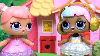 Куклы ЛОЛ Сборник Мультиков 4 - Сюрпризы #Игрушки для девочек LOL Surprise | Лалалупси Вероника