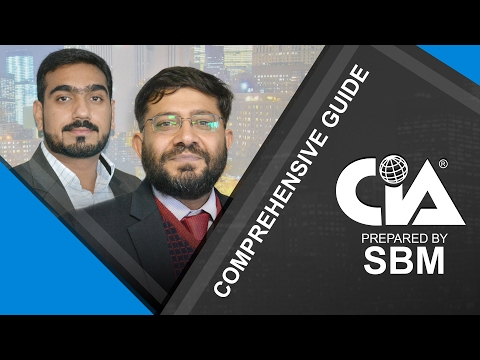 A Comprehensive guide to CIA (Certified Internal Auditor) by SBM ...