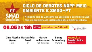 #aovivo | 1º ciclo de debates do NAPP Meio Ambiente e SMAD/PT