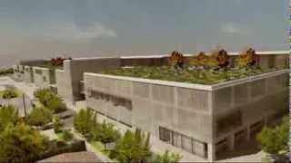 preview picture of video 'Asi quedaria el Hospital de La Florida'