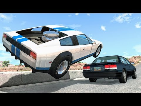 High Speed Traffic Crashes #29 - BeamNG Drive | CrashBoomPunk