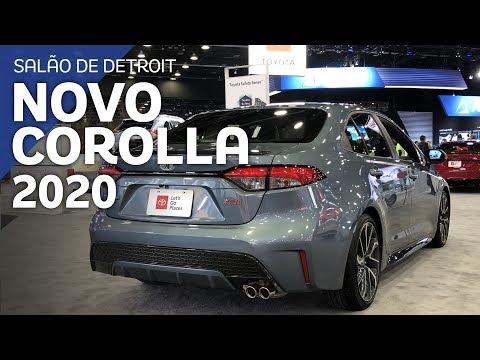 Novo Toyota Corolla Sedan 2020 - Primeiro contato