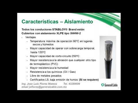 Conductores de Aluminio, selección y justificación ante la NOM