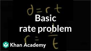 Basic Rate Problem