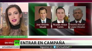 Inicia la carrera presidencial en México
