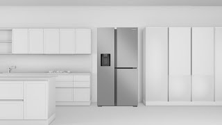 So wird ein Samsung Side-by-Side Kühlschrank installiert