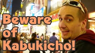 Most Shady Place in Japan: Kabukicho, Shinjuku   Tokyo's Red Light District