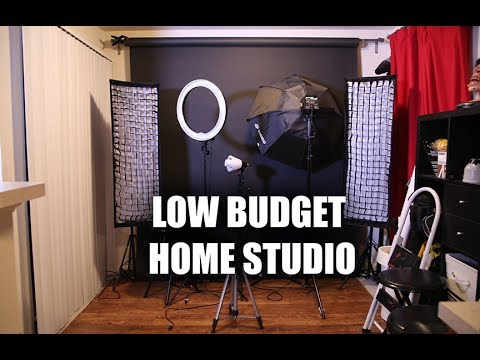Low Budget Home Photo Studio Tips