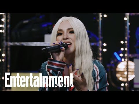 Ava Max Performs 'Sweet But Psycho' | In The Basement | Entertainment Weekly
