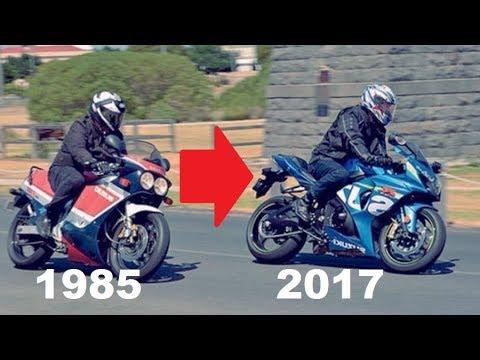 Suzuki GSX-R History (1985 - 2017) | Evolution of a SuperBike | Full Documentary