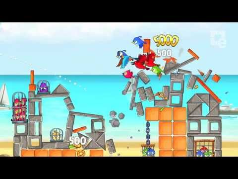 Видео № 1 из игры Angry Birds Trilogy [Wii U]