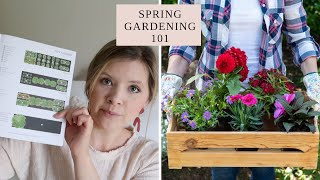 🌱 SPRING GARDENING FOR BEGINNERS 🌱 | How to Get Started Growing a Small Flower and Vegetable Garden