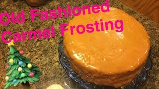 How to Make: Old Fashioned Carmel Frosting