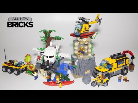 Vidéo LEGO City 60161 : Le site d'exploration de la jungle