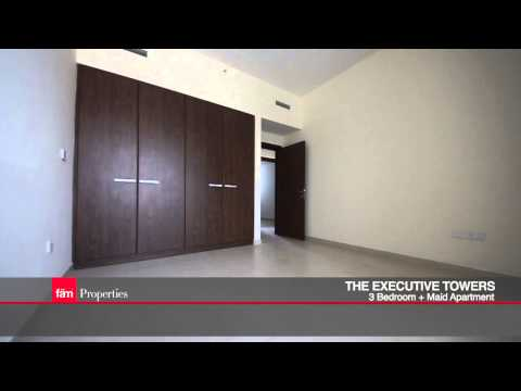 3 Bedroom + maid's, Executive Towers, Business Bay, Dubai - UAE