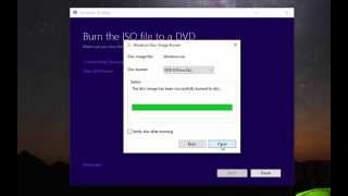 How To Make a Windows 10 Install Disc