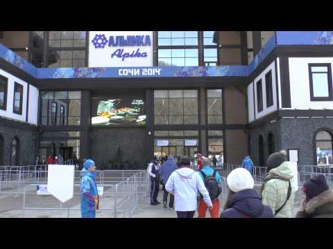 Видео: Видео горнолыжного курорта Альпика-Сервис-Красная Поляна в Красная поляна