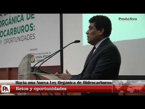 """SNMPE: """"Hacia una nueva Ley Orgánica de Hidrocarburos: Retos y Oportunidades"""""""