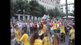 preview picture of video 'Percussió de Casablanca - Exhibició a L'Hospitalet de Llobregat'