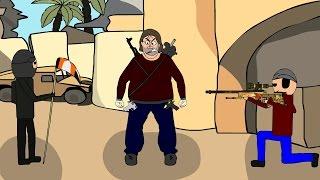 CS:GO Cartoon. Необычный de_dust2
