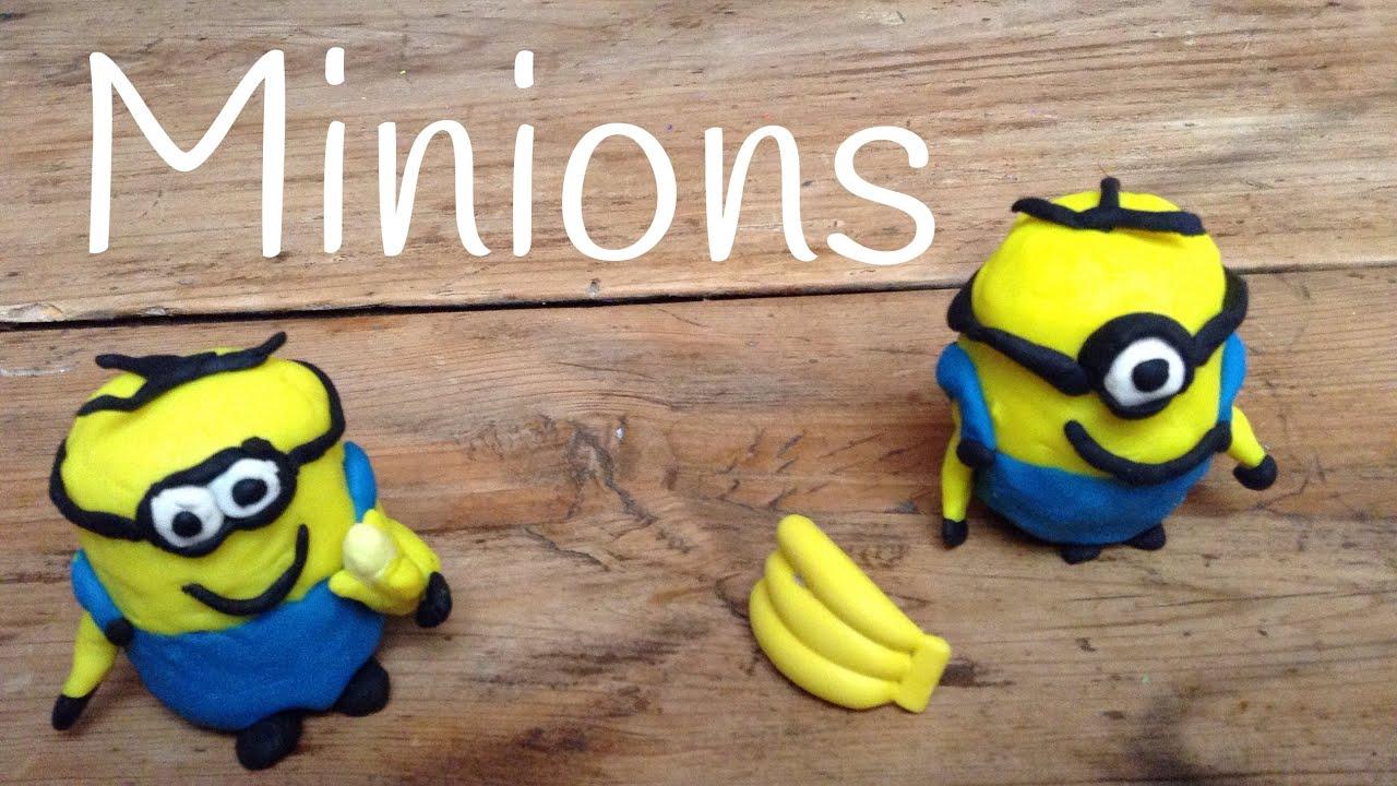 Play Doh Minions en Español - Manualidades de plastilina Play Doh